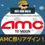 米国株はAMC祭りアゲイン!個人投資家銘柄爆上げ