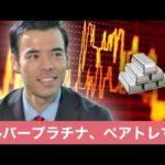 シルバー&プラチナ、危険なチャート、ペアトレード投資をする!(動画)