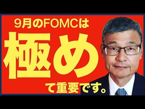 【米国株 9/17】9月21・22日のFOMCは、極めて重要!年代別の貯蓄目標の話(動画)