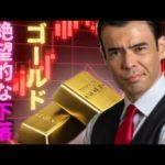 ゴールド、絶望的な下落は続く(動画)