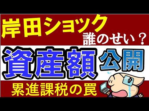 【岸田ショックの原因は?】20代会社員の貯金額・ポートフォリオを公開(動画)
